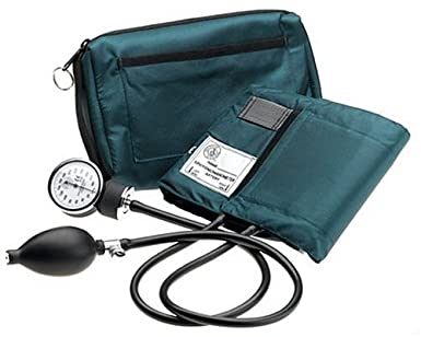 Prestige Aneroid Sphygmomanometer with Matching Hunter Green Carrying Case
