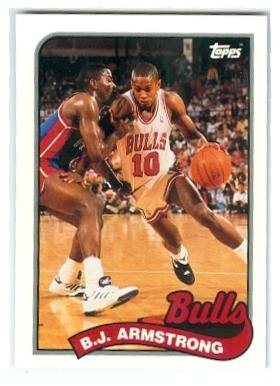 Bj Armstrong Basketball Card Chicago Bulls 1993 Topps Archives