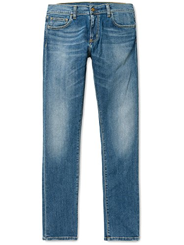 CARHARTT WIP - Jean - Homme - Jeans Slim Tapered Fit Stretch Rebel Bleu Délavé pour homme - 32/34