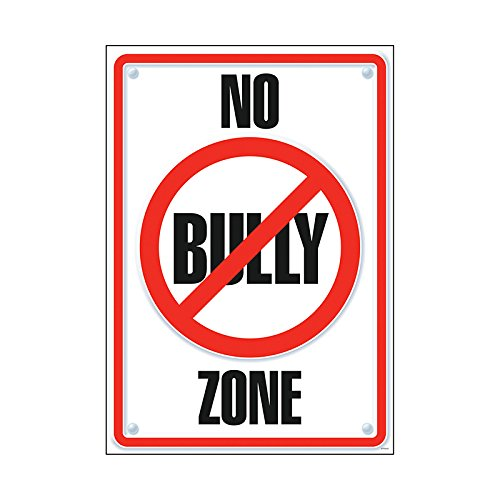 """Argus No Bully Zone Poster, 13.375"""" x 19"""""""
