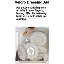 Sportoli® Patented Velcro Finger Arthritis Button Hook Dressing Aid Help Tool