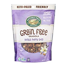 Nature's Path Vanilla Poppy Seed Grain-Free Granola, Healthy, Organic, , 8 Ounce Bag (Pack of 6)