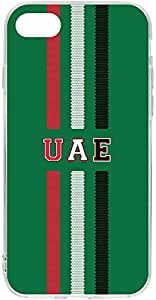 Switch iPhone 7 Clear Case UAE National Day - UAE Team 1