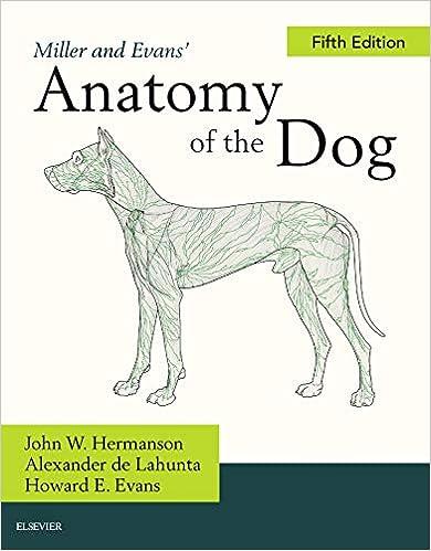 Miller And Evans Anatomy Of The Dog 9780323546010 Medicine