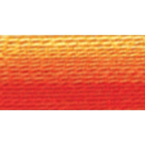 (DMC 117-51 Six Stranded Cotton Embroidery Floss, Variegated Burnt Orange, 8.7-Yard)