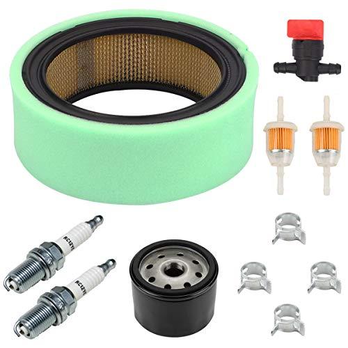 Euros GT2550 Air Filter Tune Up Kit Fit for Cub Cadet 2176 2185 GT2186 2206 2284 GT2523 GT2544 GT2554 GT3100 GT3200 1864 1863 2185 3240 2084 LT2042 Riding Lawn Mower ()