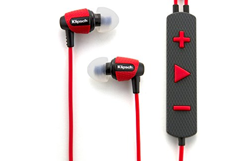 Klipsch Image S4i Rugged - Red All Weather In-Ear Headphones
