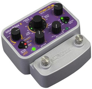 Source Audio Soundblox 2 SA223 MANTA Bass Filter Bass Guitar Multi Effect by Source Audio