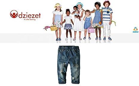 Odziezet B/éb/é Enfant Gar/çon Fille Denim Jeans Pantalon Trouser Casual Sport Printemps 3-9 Ans