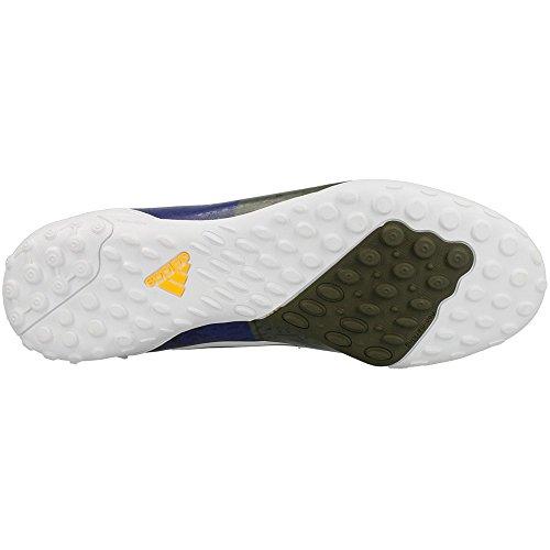 Adidas - F10 TF - M21768 - Couleur: Blanc-Bordeaux-Jaune - Pointure: 46.6