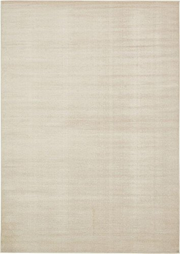 Collection Beige 7 x 10 Area Rug (7' x 10') (Flat Weave Carpet)