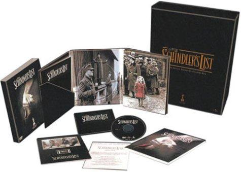 La Liste de Schindler - Coffret Collector Édition Limitée 2 DVD [Inclus le CD de la BOF, Un livre de photos du tournage de 80 pages, le senitype, le certificat d'authenticité] [Import belge] -