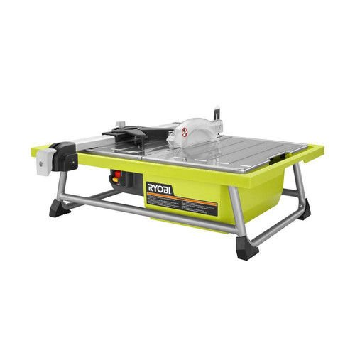 Ryobi ZRWS722 7 in. Portable Wet Tile Saw (Renewed)
