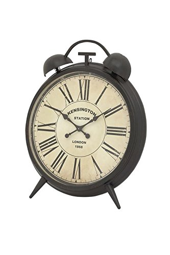 Deco 79 Corrosion Resistive Round Metal Clock, Antique Finish by Deco 79