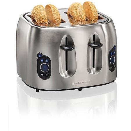 Hamilton Beach Brands 697046430306 Hamilton Beach 24702 Digital 4-Slice Toaster