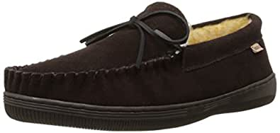 Tamarac by Slippers International 7161 Men's Camper Moccasin,Rootbeer,7 M US
