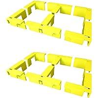 EZ Woodshop Corner Clip 12-Piece Box/Cabinet/Shelf Corner Clamp Set