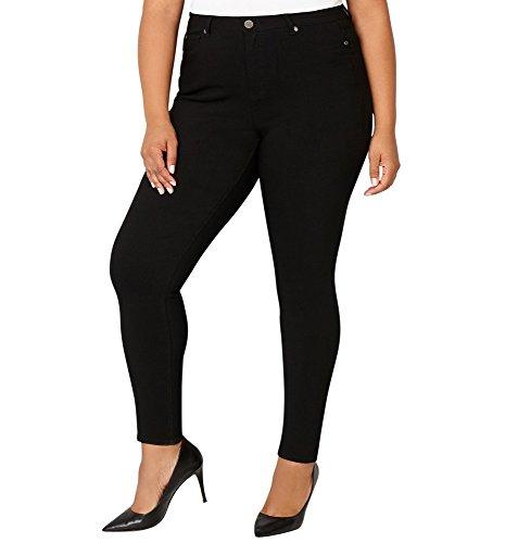 ket Stretch Jean in Black, 22 Black (Avenue Skinny Jeans)