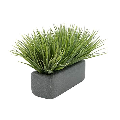 House of Silk Flowers Artificial Frosted Farm Grass in 11