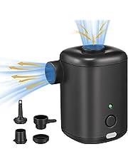 مضخة هواء صغيرة، مضخة هواء قابلة لإعادة الشحن بحقيبة الظهر مع كابل USB، مضخات سرير قابلة للنفخ لاسلكية للشحن السريع لمراتب التخييم الهوائية، عوامة حمام السباحة، وسادة نوم