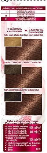 GARNIER Color Sensation - Tinte Permanente, Disponible en Más de 20 Tonos, Castaño Cashmere 5.52