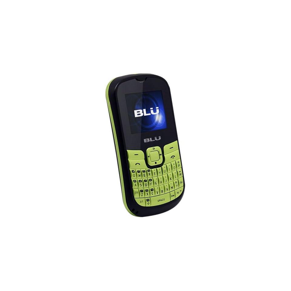 BLU Q160 Deejay II   Unlocked Phone   US Warranty   Retail Packaging   Black/Green