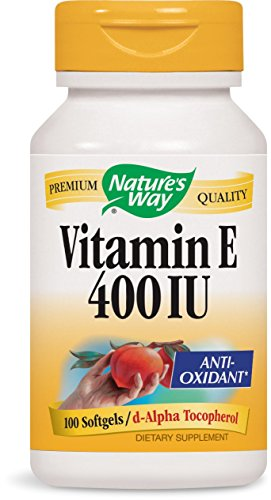 Nature's Way Vitamin E 400 IU, 100 Softgels