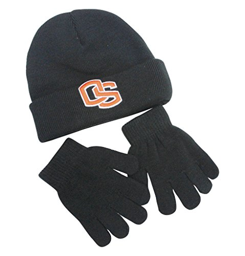 on State Beavers Toddler Hat and Gloves Set 4/7 (Nike College Hats)