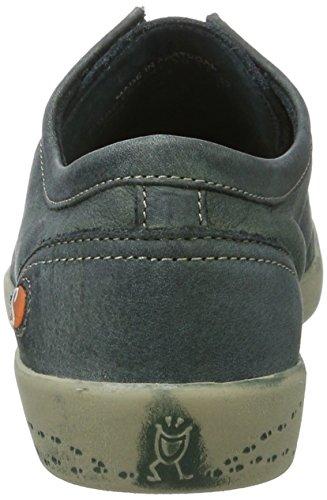 Softinos Isla Blu benzina Donna Washed Sneakers w4qP1