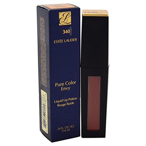 Estee Lauder Women's Pure Color Envy Liquid Lip Gloss, 340 Strange Naive, 0.24 Ounce