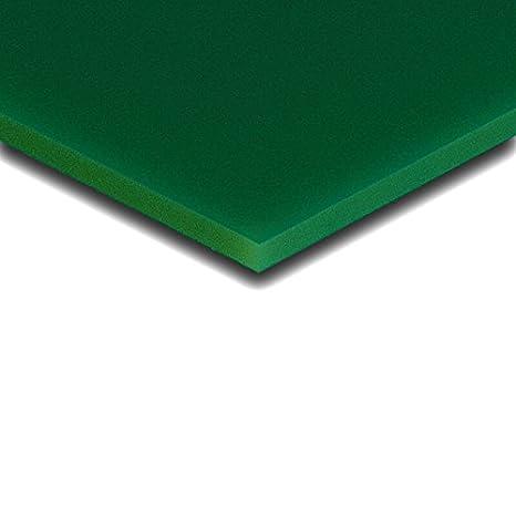 Ma/ße 100x70x0,3 cm 3 mm PLEXIGLAS/® dunkelgr/ün 6H01 GT und Au/ßenbereich farbiges PLEXIGLAS/® zur Anwendung im Innen