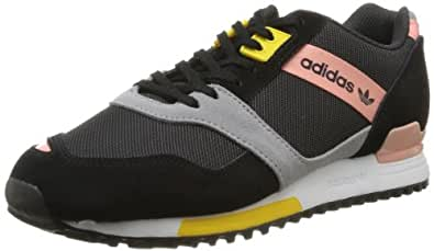 adidas Originals Zx 700 Contemp W-2 D65402 - Zapatillas de tela para mujer, negro - Schwarz (BLACK 1 / ST FADE ROSE S14 / ALUMINUM 2), 40