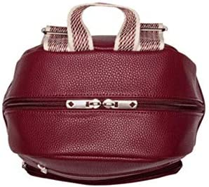 in Deep Merlot Pebble No Monogram Thirty One Boutique Backpack 9138