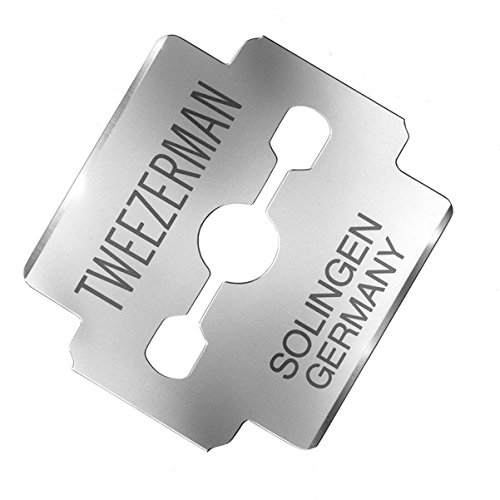 Tweezerman Replacement Callus Shaver Blades, 100 Count (Corn Tweezerman)