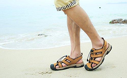 Cammello Mens Rv Performance Punta Chiusa Sandalo Colore Giallo Taglia 42 M Eu
