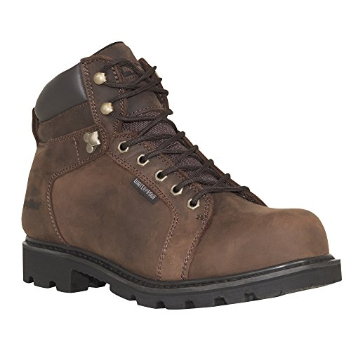 RefrigiWear Men's Performer Leather Boot, Brown, 11.5 US by Refrigiwear