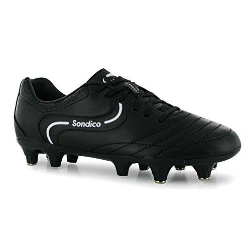 Sondico Strike II SG Kinder Jungen Fussballschuhe Stollenschuhe Sportschuhe Black/White