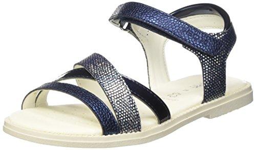 Azul Con Karly Sandal Niñas J Geox Sandalias Para D navyc4002 Girl Cuña W7vU1f4Yq