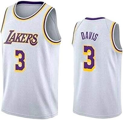 WZHHH Camiseta De Baloncesto para Hombre - Lakers # 3 ...