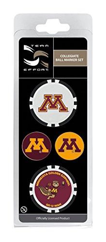 Minnesota Golden Gophers Golf Ball - Team Effort Minnesota Golden Gophers Ball Marker Set