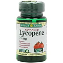 Nature's Bounty Lycopene 10mg, 60 Softgels (Pack of 2)