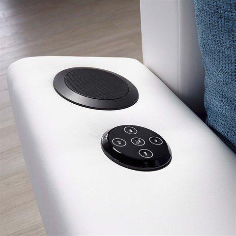 Polsterecke Mit Beleuchtung, Wahlweise Mit Bluetooth Soundsystem Grau Immer  Mit RGB LED Beleuchtung Und Wahlweise Mit Bluetooth Soundsystem: Amazon.de:  ...