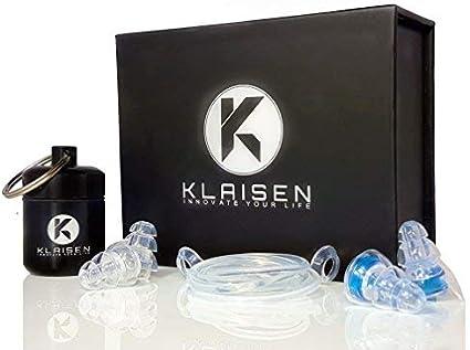 BIKE IT Soft Foam Ear Plugs Keyfob Ear Plugs Storage Case