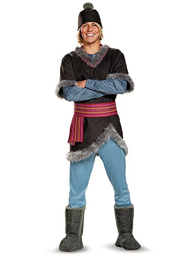 Disguise Men's Frozen Kristoff Costume, Multi, -