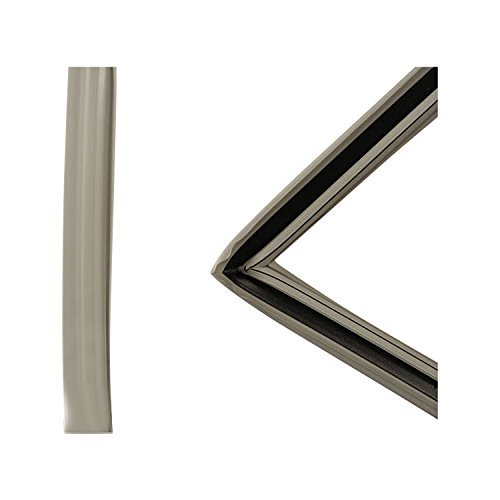 Refrigerator White Door Gasket (Frigidaire 242193213 Refrigerator Door Gasket (White) Genuine Original Equipment Manufacturer (OEM) part for Frigidaire, Kenmore, Crosley, & Universal/Multiflex (Frigidaire), White)