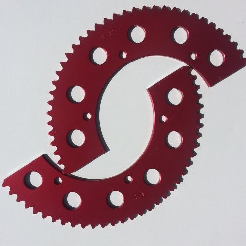 RLV Racing Go Kart Gear Sprocket 67 Tooth #35 (Sprockets Go Karts)