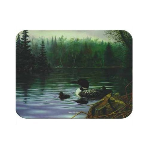 Tuftop McGowan Loons in the Mist Cutting Board, Multicolored ()