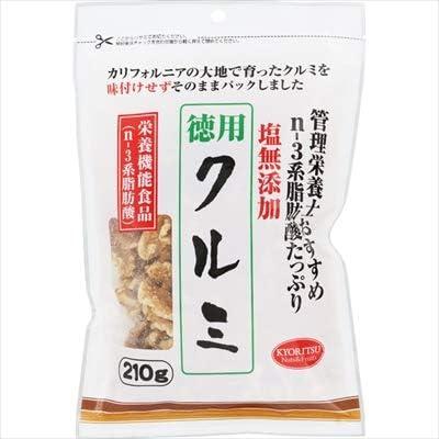 共立食品(株) 管理栄養士おすすめクルミ徳用 210g