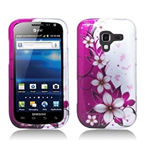 Bloutina Aimo Wireless SAMI577PCIMT064 Hard Snap-On Image Case for Samsung Galaxy Exhilarate - Retail Packaging - Hot Pink...