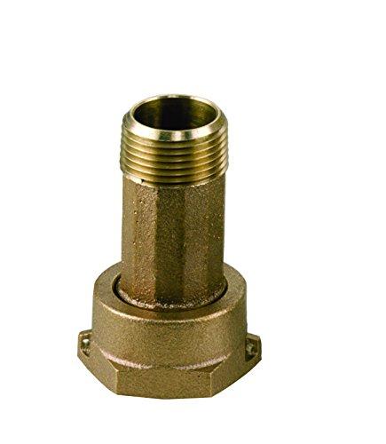 Lf Water Meter : Dake a lf lead free brass water meter coupling